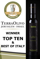 TreFòrt among the TOP TEN and BEST OF ITALY at TERRAOLIVO 20166
