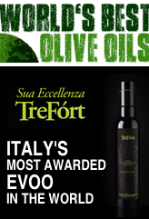 TreFòrt is Italy's most awarded olive oil in the World