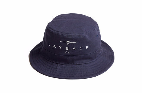 No Bad Days Navy Bucket