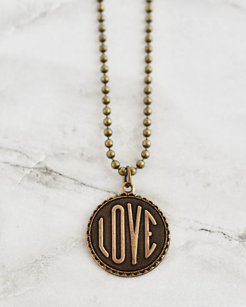 Mother's Day Coin Necklace || Choose Style