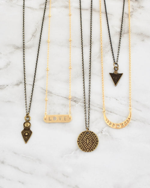 Ronnie Necklaces || Choose Style