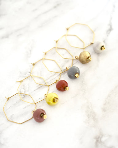 Eaton Earrings || Choose Color