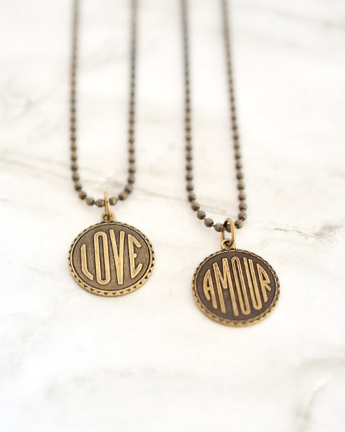 Love Coin Necklace || Choose Style