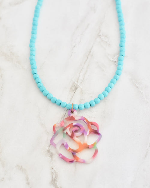 Lil Kinsey Necklace || Choose Color