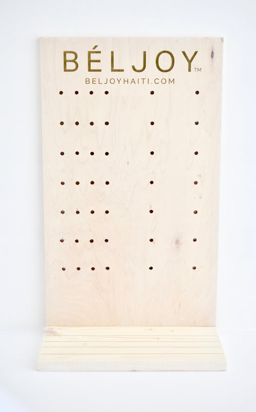 Peg Board Display