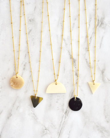 Caroline Necklace || Choose Color