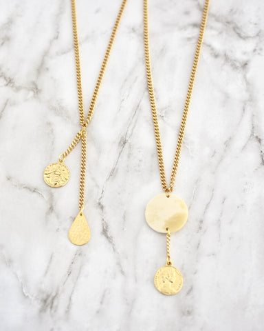 Eggo Coin Earrings