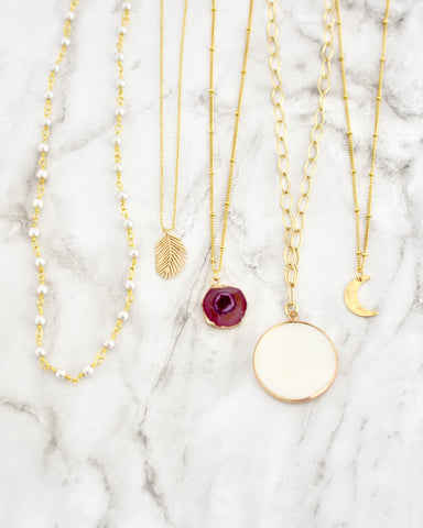Arielle Coin Necklaces || Choose Style