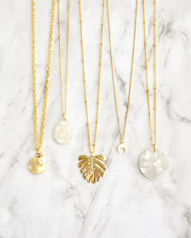 Silvia Necklace Set || 3 Styles