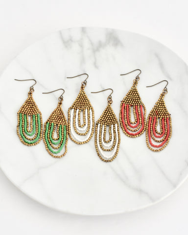 Ellen Earrings || Choose Color