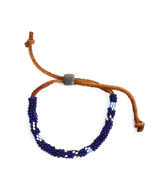Bandler Hand Beaded Pull Bracelet || Choose Color
