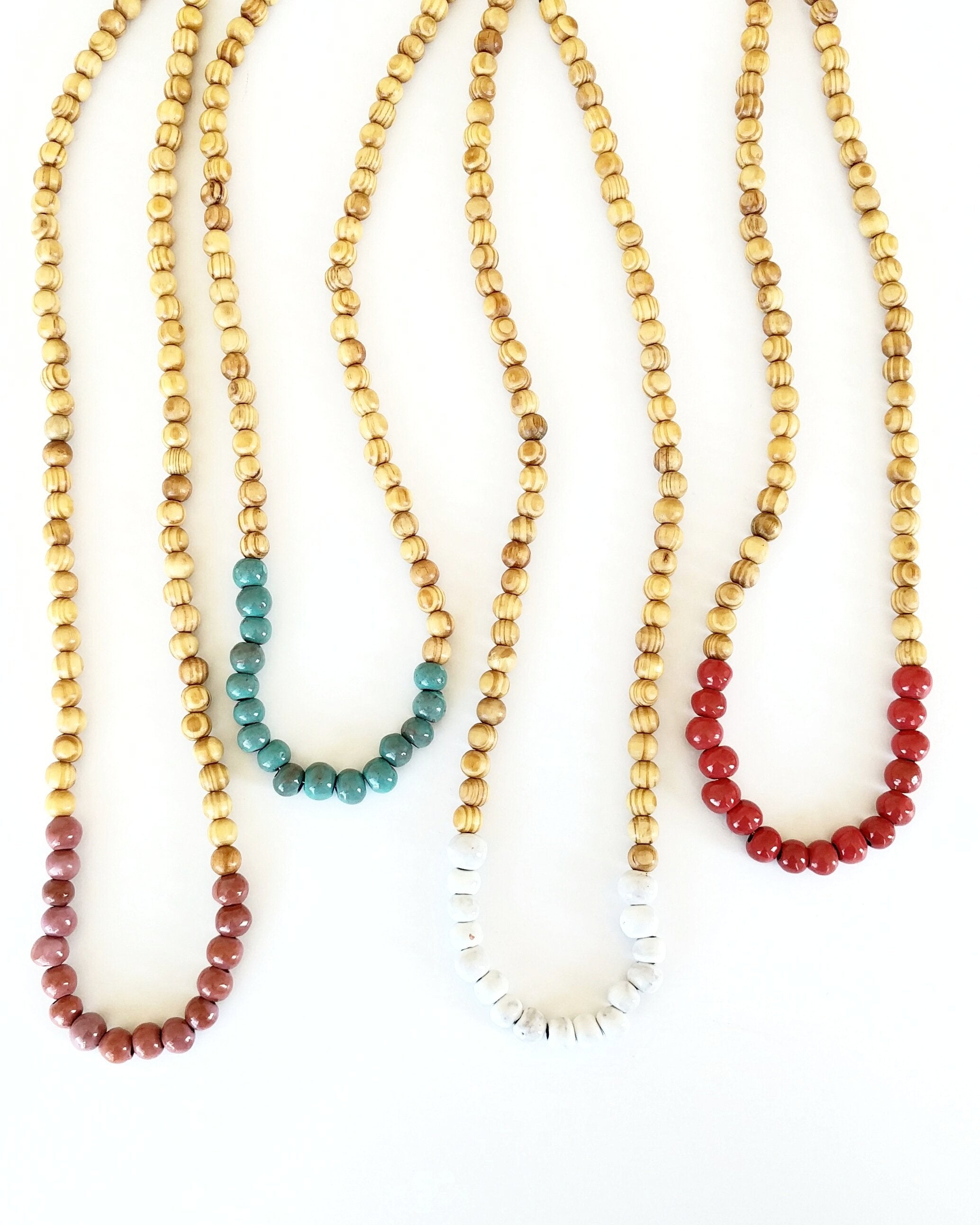 Alexis Bare Necklace || Choose Color