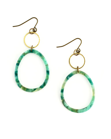 Eleena Octagon Earrings || Choose Color