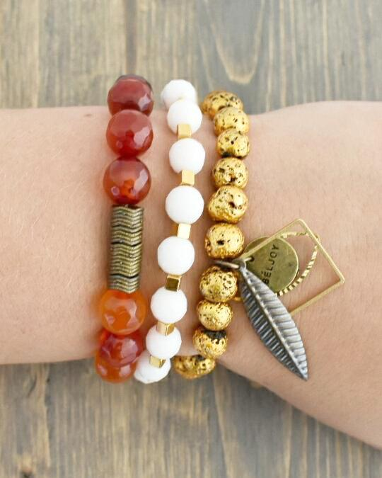 GAME DAY STACK || RED/YELLOW