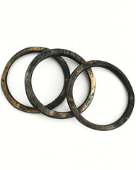 Lina || Haitian Horn Bangle || Choose Shape