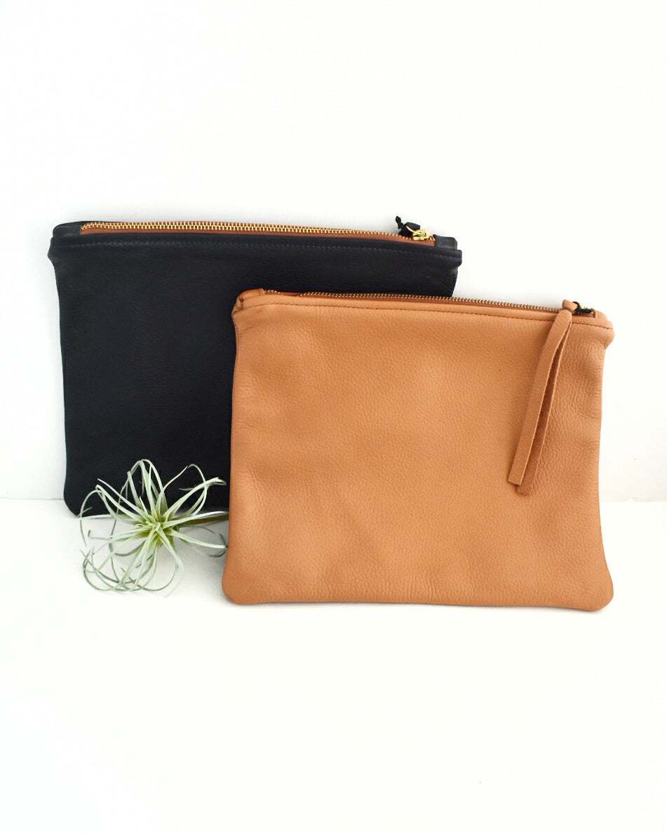 Leather Pouch || Choose Color