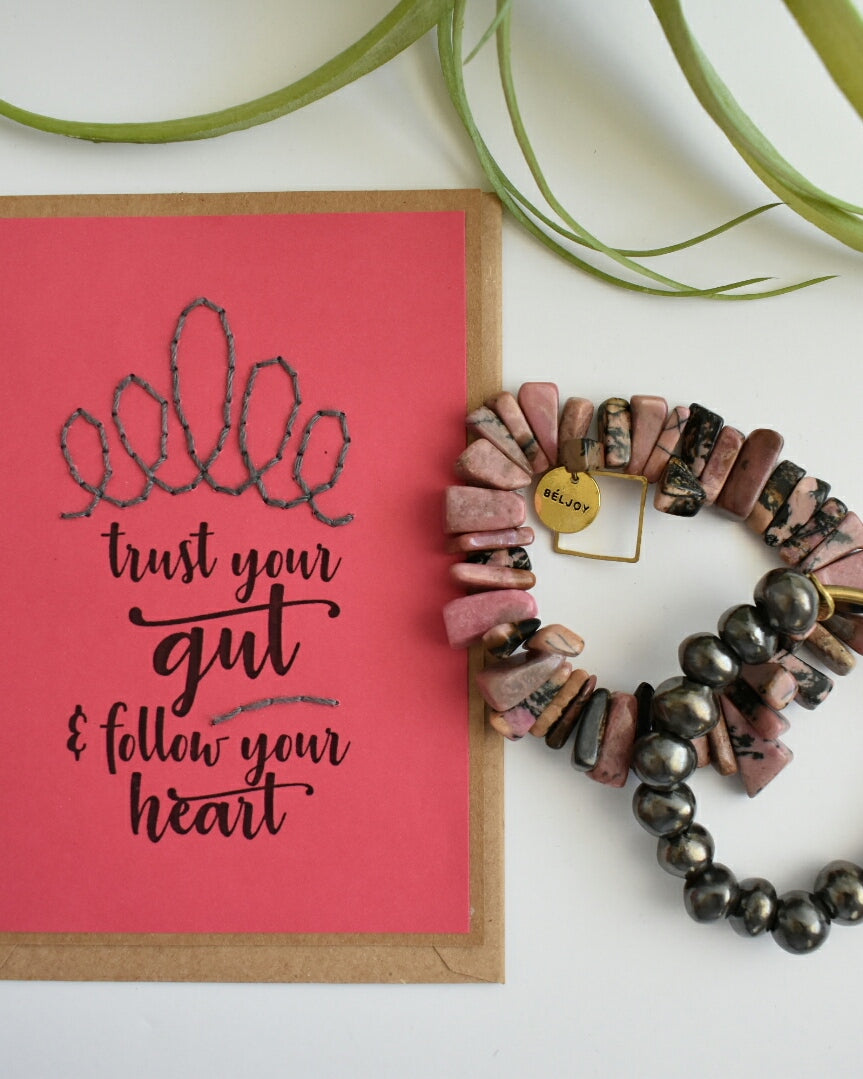 Handmade Card + Bracelet Gift Set || LIMITED DISCOUNTED BUNDLES