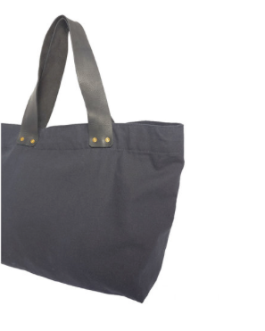 Oversized Canvas Tote || Choose Color