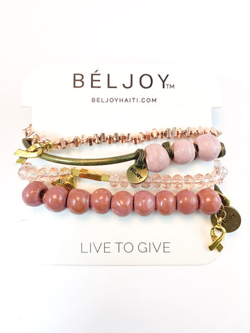 Belize Clay Bracelet || Choose Color