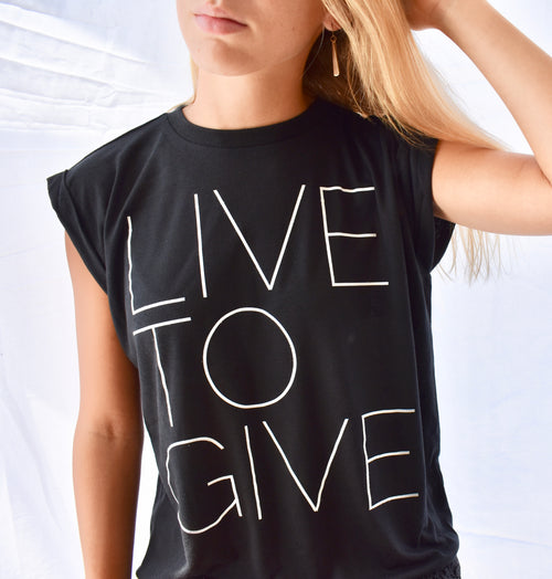 Live To Give || Shirt