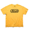"""Old School"" Main Logo Tee - Dirty Gold"