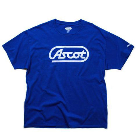 """Old School"" Main Logo Tee - Victory Blue"