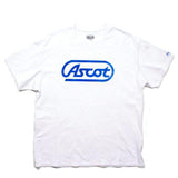 """Old School"" Main Logo Tee - White Smoke"
