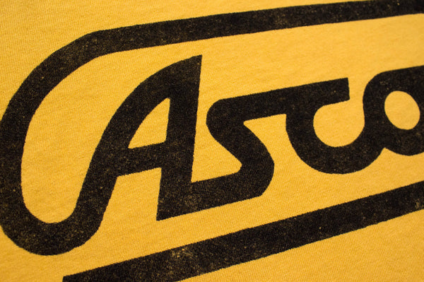 """Old School"" Main Logo Tee - Dirty Gold - Ascot Motorsports - 2"
