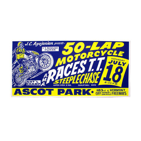 Ascot Park Red Applique