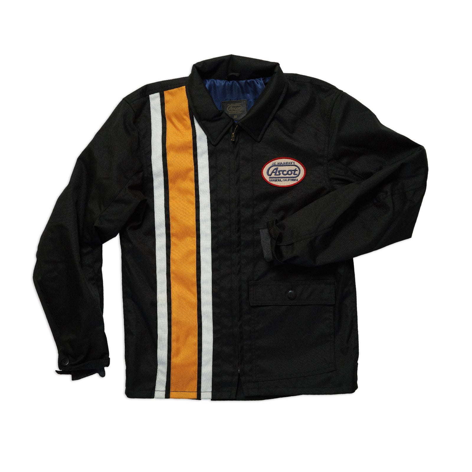 Men's Coaches Jacket - Black / Yellow