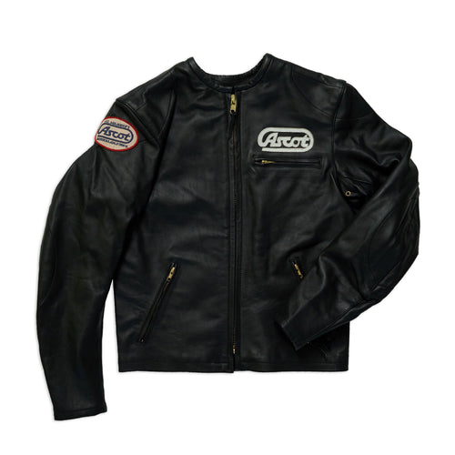 Ascot Racer Leather - Black