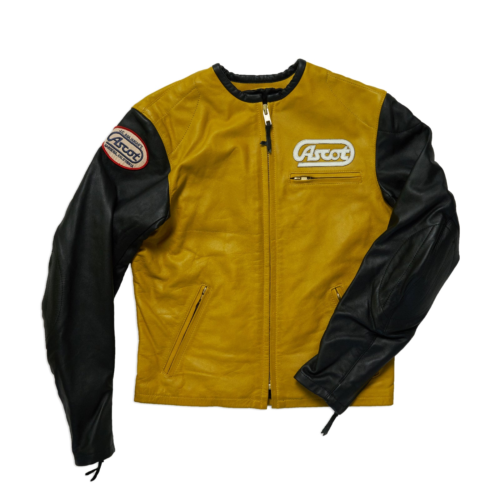 Ascot Racer Leather - Gold