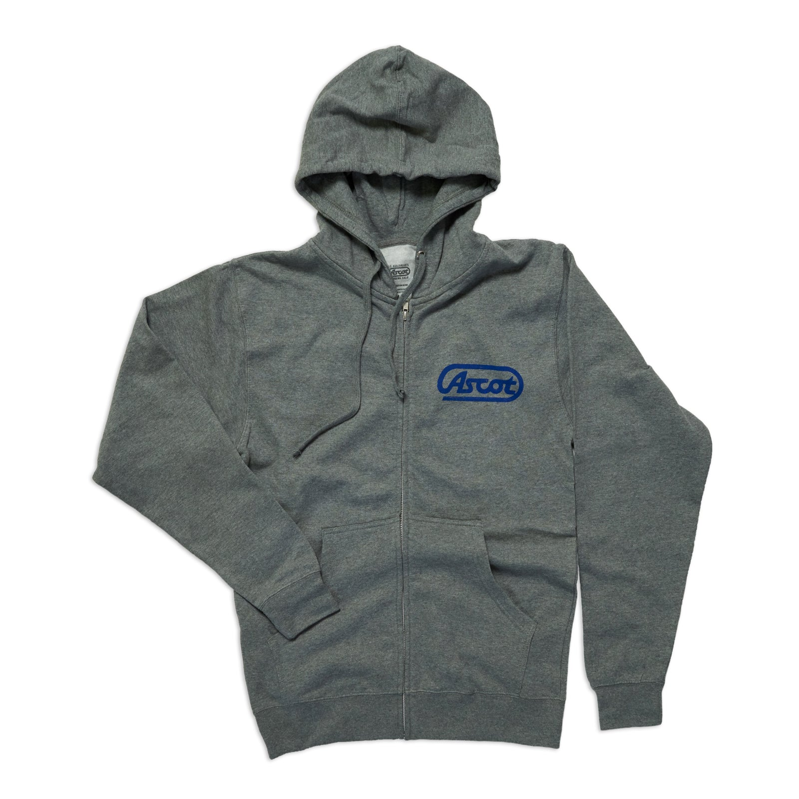 Ascot Zip Up - Heather Gray