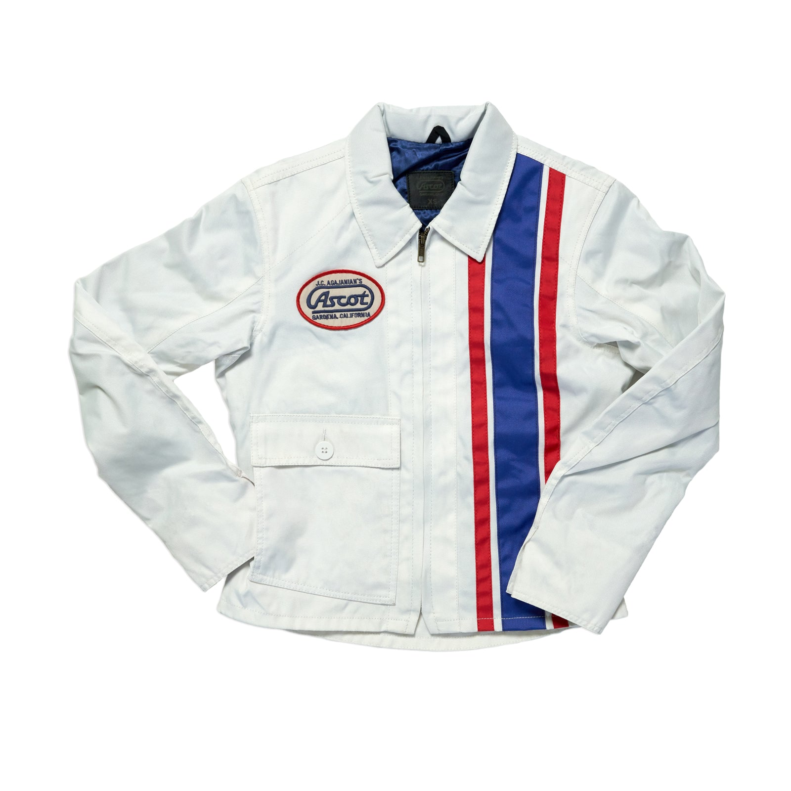 Women's Coaches Jacket - Blue / Red