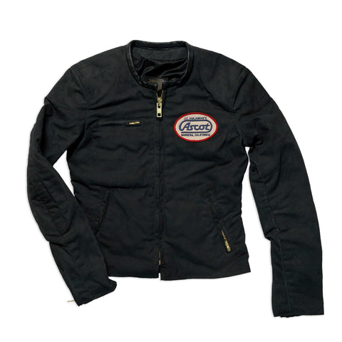 Women's Coaches Jacket - Black / Yellow