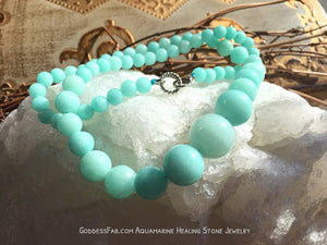 Brazilian Aquamarine Necklace