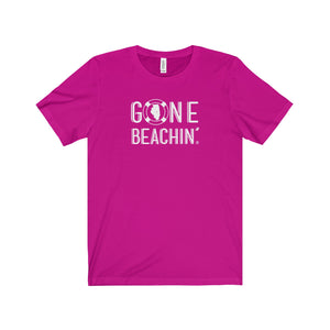 Gone Beachin' Illinois Unisex T-Shirt - Gone Beachin'
