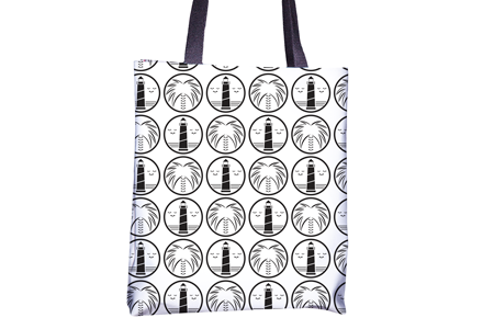 Gone Beachin' Tote - All Over Print , Totes - GBAC, Gone Beachin' Apparel Co. - 2
