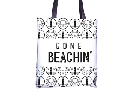 Gone Beachin' Tote - All Over Print , Totes - GBAC, Gone Beachin' Apparel Co. - 1