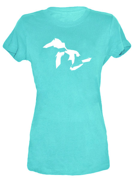 Great Lakes Simplified , Tees - Gone Beachin' Unsalted, Gone Beachin' Apparel Co.