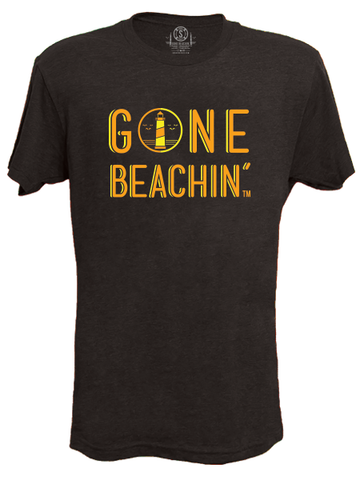Gone Beachin' Lighthouse , Tees - Gone Beachin' Unsalted, Gone Beachin' Apparel Co.