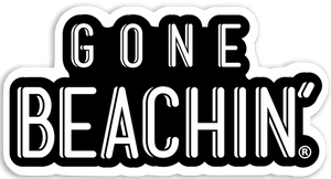 Gone Beachin' Logo Sticker - Gone Beachin'