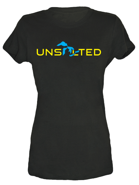 Great Lakes Simplified Unsalted , Tees - Gone Beachin' Unsalted, Gone Beachin' Apparel Co.