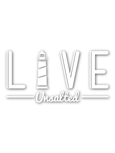 LIVE Unsalted Decal - Gone Beachin'