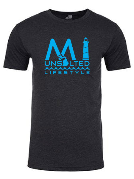 MI Unsalted Lifestyle , Tees - Gone Beachin' Unsalted, Gone Beachin' Apparel Co.