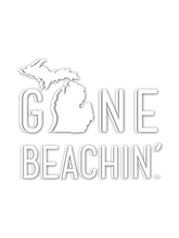 Michigan Gone Beachin' Decal - Gone Beachin'