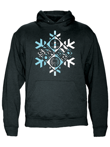 Snowbird , Hoodies - Gone Beachin' Unsalted, Gone Beachin' Apparel Co.