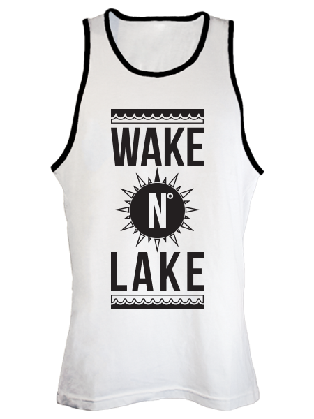 Wake N' Lake Tank - Gone Beachin'