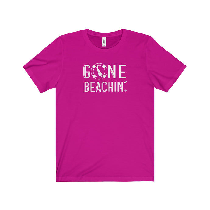 Gone Beachin' Delaware Unisex T-Shirt - Gone Beachin' Apparel Co.