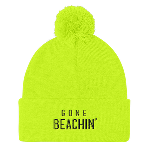 Gone Beachin' Neon Pom Pom Hats - Gone Beachin'